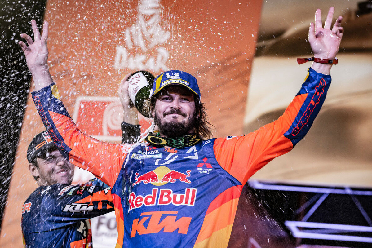 Toby Price Finish Red Bull Ktm Factory Racing Dakar2019 503